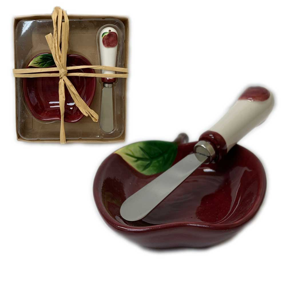 Mac Christmas Gift Sets: High Holiday Gifts- Ceramic Apple Honey Gift Set